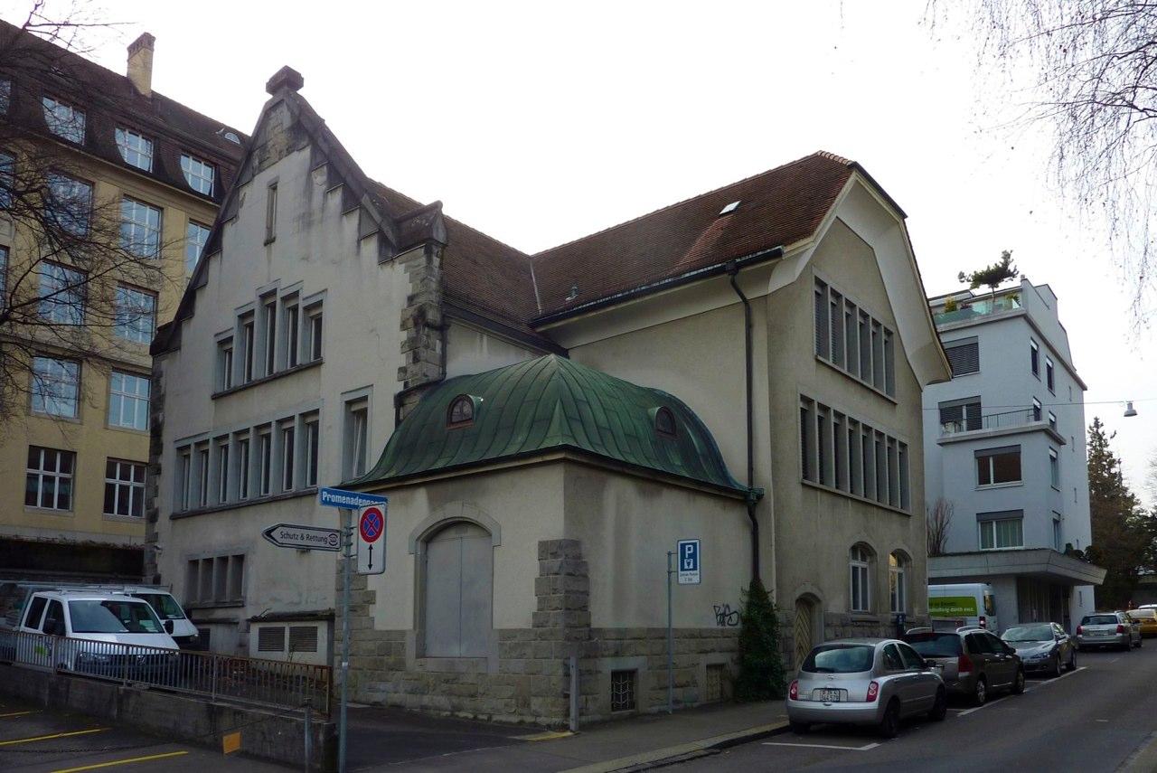 Aussensanierung ewz-Gebäude, Promenadengasse 15, Zürich (20.Jh.); 2015
