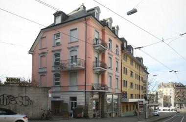 Teilsanierung Geschäfts-/Wohnhaus, Leonhardstr. 10, Zürich (19.Jh.);