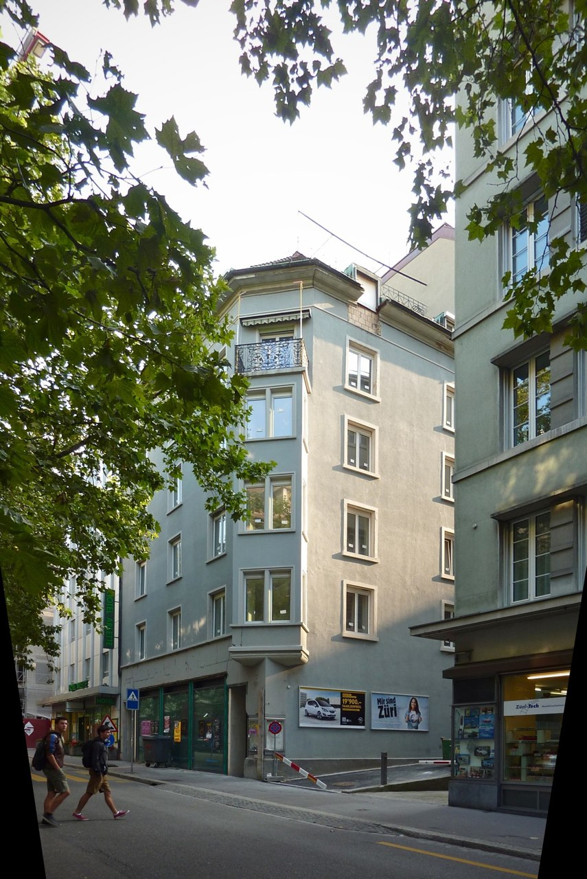 Sanierung+Attikaaufbau Wohn-/Geschäftshaus, Stampfenbachstr. 24, Zürich