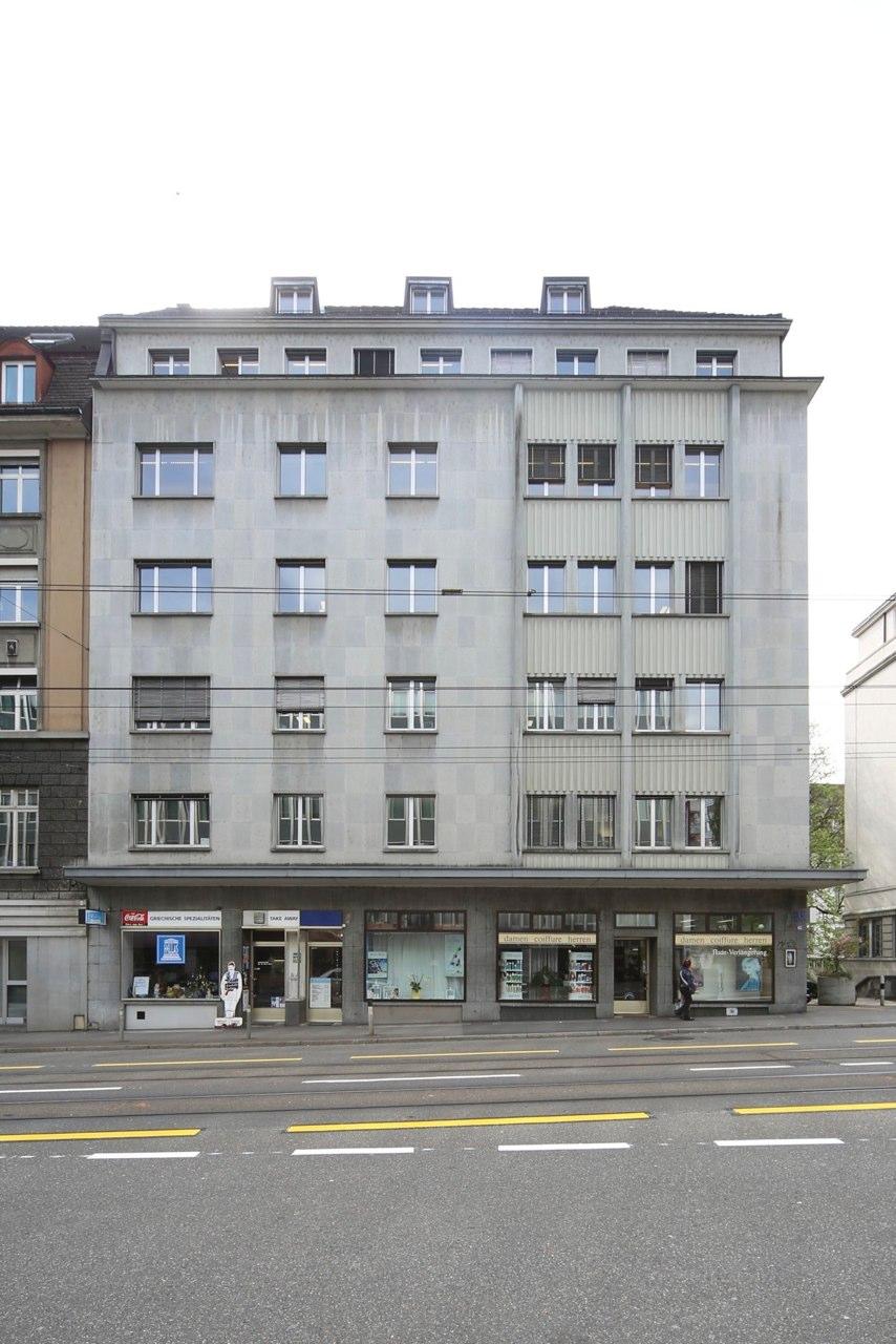 Aussensanierung Geschäftshaus Stampfenbachstr. 63, Zürich (20.Jh.); 2015
