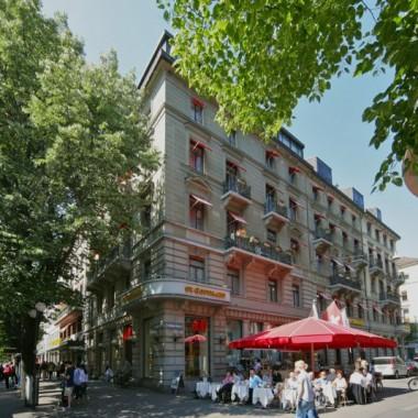 Aussensanierung Hotel St. Gotthard, Bahnhofstr./ Schützeng., Zürich (19.Jh.); 2012