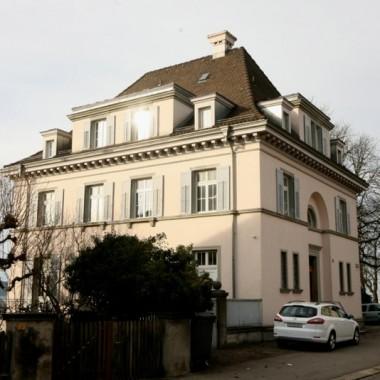Teilsanierung Pfarrhaus Fluntern, Kantstr. 21, Zürich (20.Jh.); 2010