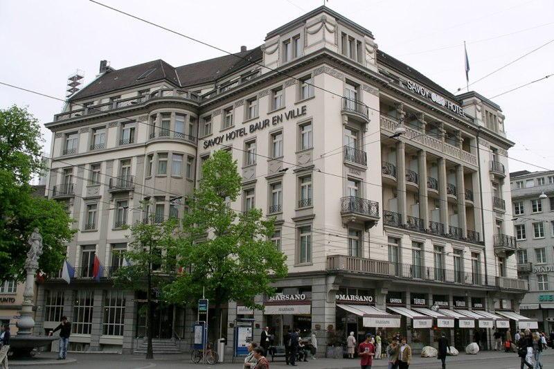 Sanierung Zunftsaal/Zimmer Hotel Savoy, Paradeplatz/Poststrasse, Zürich (18.+20.Jh.); 1997-2000