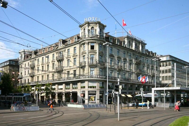 "Sanierungen in Etappen Hotel ""Schweizerhof"", Bahnhofplatz 8, Zürich (19.Jh.); 2007-2014"