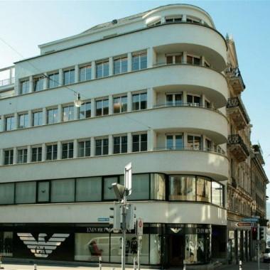 Gesamtsanierung Geschäftshaus Rämistr. 8, Zürich (20.Jh.); 1995