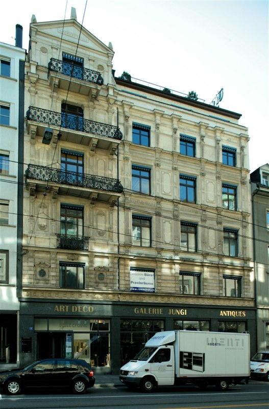 Gesamtsanierung Geschäftshaus Rämistr. 6, Zürich (19.Jh.); 1993