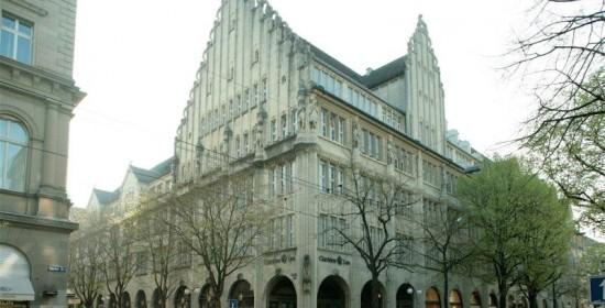 Innensanierungen Bank Leu AG, Bahnhofstr. 32, Zürich (20.Jh.); 1989