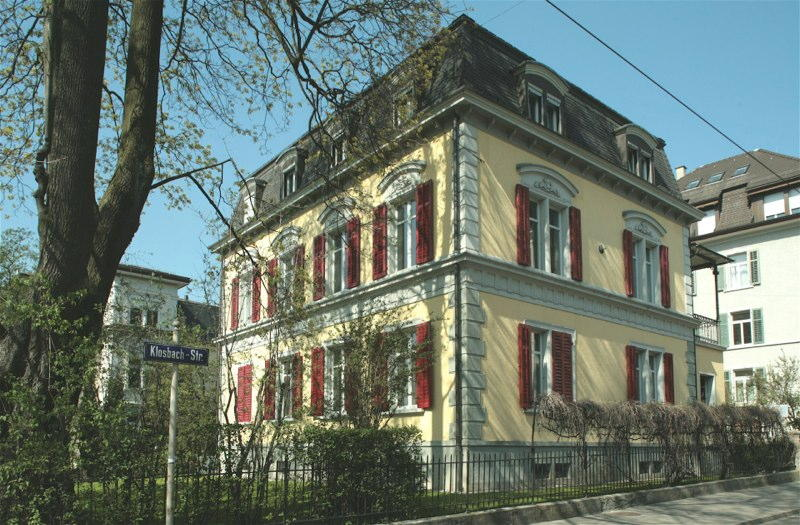 Sanierung/Ausbau Bürohaus Klosbachstr. 51, Zürich (19.Jh.); 1970-90