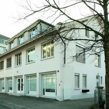 Umnutzung Gewerbe-/Bürohaus, Baurstr. 14, Zürich (19.Jh.); 1988