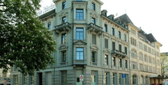 Teilsanierung NZZ-Bürogebäude, Falkenstr. 11, Zürich (19.Jh.); 1994