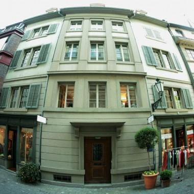 Gesamtsanierung Altstadthaus Augustinergasse 50, Zürich (18.Jh.), 1984