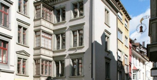 Sanierung Geschäfts-/Wohnhaus Fronwagplatz 27, Schaffhausen (16.Jh.); 2014-15