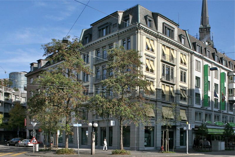 Fassadensanierung Credit-Suisse, Badenerstr. 50 / Kanzleistr. 4, Zürich (19.Jh.); 2009