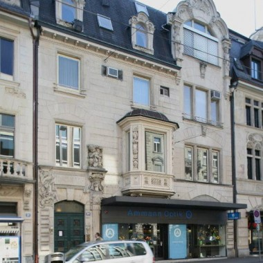 Aussensanierung Geschäftshaus Bleicherweg 39, Zürich (20.Jh.); 2011