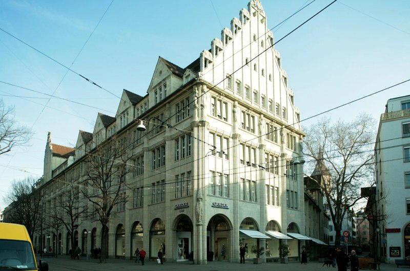 Aussensanierung Bank Clariden Leu AG, Bahnhofstr. 32, Zürich (20.Jh.); 2009-10