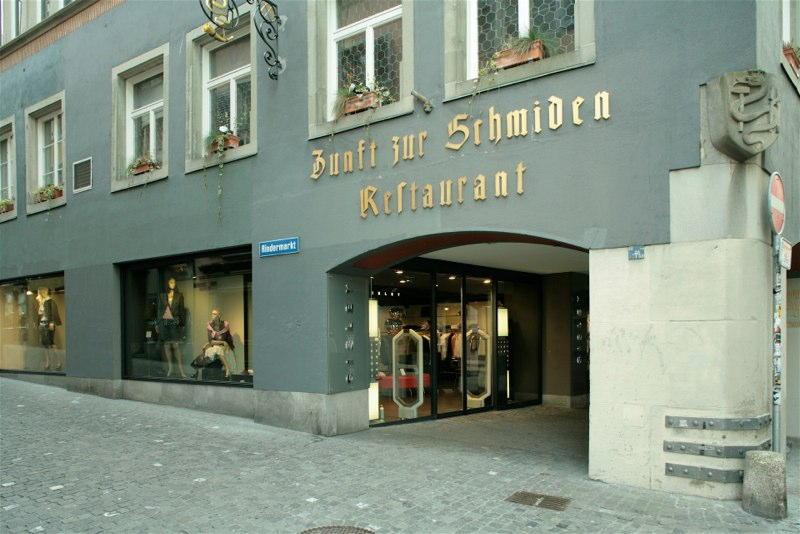 """Ladeneinbau """"Sisley"""", Münstergasse 20, Zürich (15.Jh.); 2005"""
