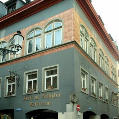 """Gesamtsanierung Zunfthaus """"Zur Schmiden"""", Münstergasse 20, Zürich (15.Jh.); 2009-10"""