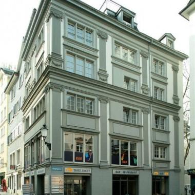 Gesamtsanierung Haus mit Restaurant Köngengasse 8, Zürich (17.Jh.); 1992