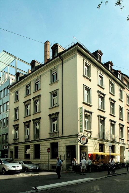 """Sanierung Restaurant """"Bierfalken"""", Löwenstr. 16, Zürich (19.Jh.); 1995+2007"""