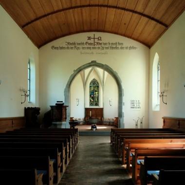 Gesamtsanierung Evang.-ref. Kirche Laufen a.Rhf. ZH (15./19.Jh.); 2001
