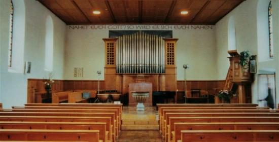 Innensanierung Evang.-ref. Kirche Hittnau ZH (18.Jh.); 2006