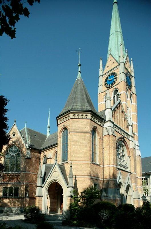 Gesamt-Restaurierung Kirche Bühl, Goldbrunnenstrasse, Zürich (19.Jh.); 1983-86