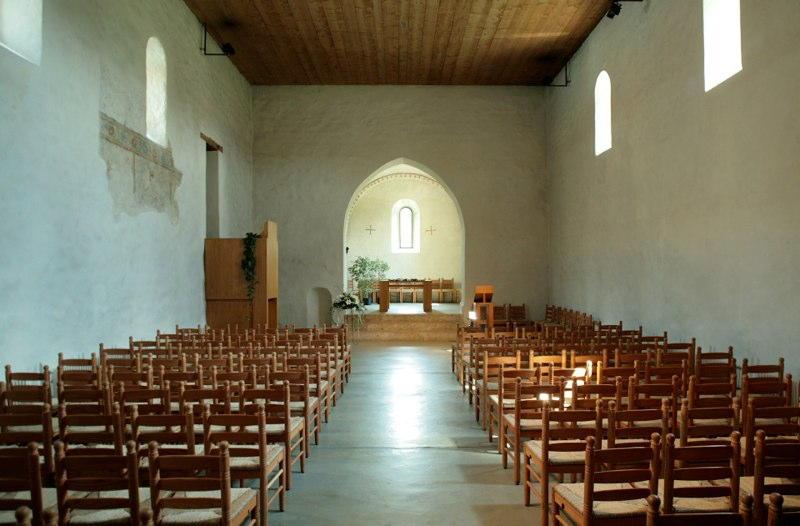 Gesamt-Restaurierung Lazariterkirche Gfenn, Dübendorf ZH (13.Jh.); 2001