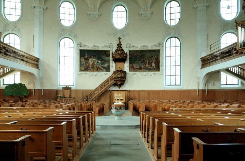 Restaurierung Evang.-ref. Kirche Horgen ZH (18.Jh.); 1976