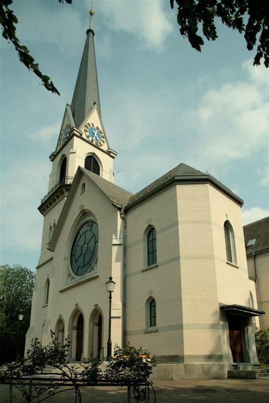 Aussensanierung Evang.-ref. Kirche Adliswil ZH (19.Jh.); 1993