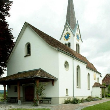 Gesamtsanierung Evang.-ref. Kirche Bubikon ZH (18./19.Jh.); 1995