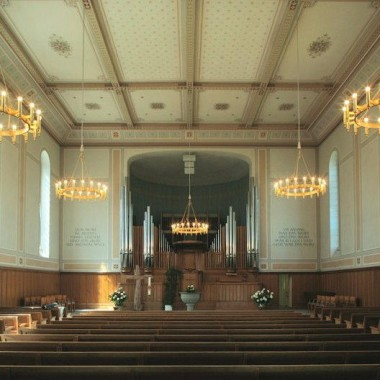 Gesamt-Restaurierung Evang.-ref. Kirche Niederuzwil SG (19.Jh.); 1991
