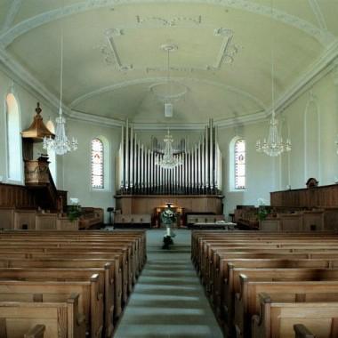 Gesamtsanierung Evang.-ref. Kirche Stäfa ZH (17.+18.Jh.); 1986