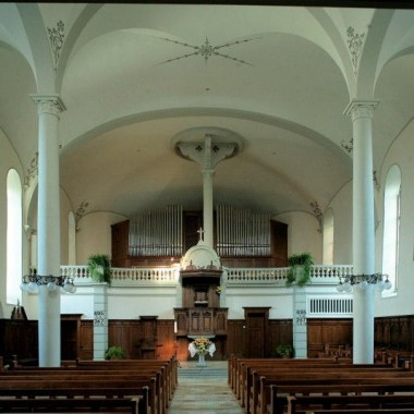 Gesamtsanierung Evang.-ref. Kirche Birmensdorf ZH (15.-19.Jh.); 1983