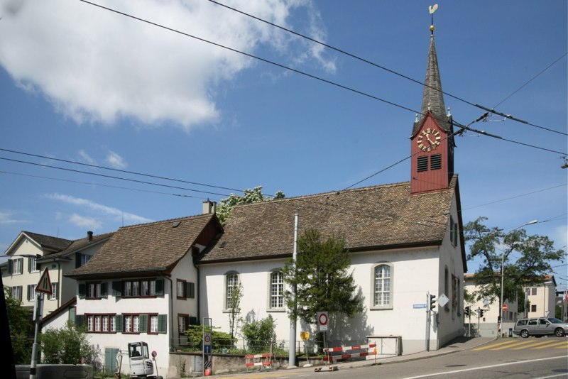 Teilsanierungen, Alte Kirche Fluntern, Gloriastr. 98, Zürich (18.Jh.; 2010ff