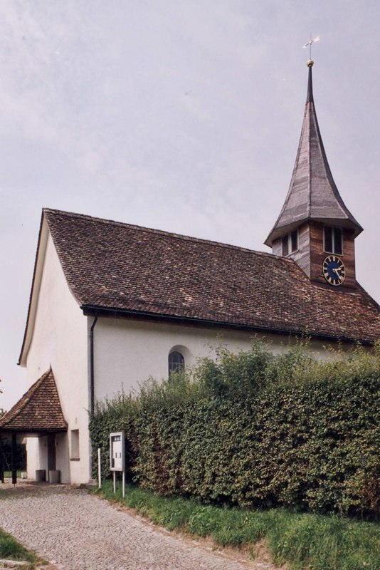 Gesamtsanierung Evang.-ref. Kirche Sternenberg ZH (18.Jh.); 2005