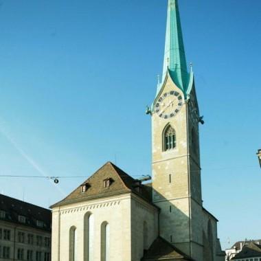 Aussensanierung Fraumünster, Münsterhof 2, Zürich (9.-19.Jh.); 2004