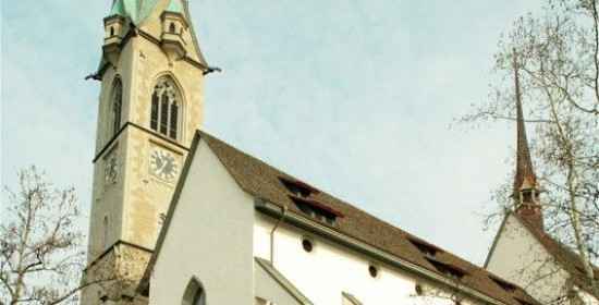 Turm-Sanierung Predigerkirche, Zähringerplatz, Zürich (1900); 1994