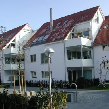 """Neuüberbauung """"Katzeren"""", Katzerenstrasse, Horgen ZH; 2004"""