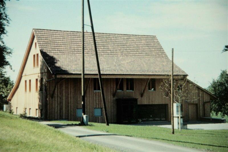 Umnutzung Freizeithaus Egg, Schürwies, Egg ZH (19.Jh.); 1988