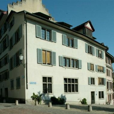 Teilsanierung Gemeinde-/Bürohaus Hirschengraben 7, Zürich (14.Jh.); 1987
