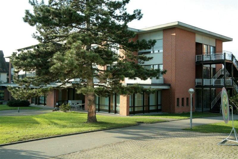 Eingangsbereich Haus 1, Wagerenhof Uster, Uster ZH (20.Jh.); 2004