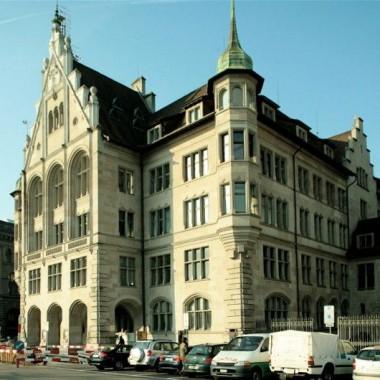 Sanierung Nordfassade Stadthaus Zürich; Stadthausq. Zürich (19.Jh.); 1982