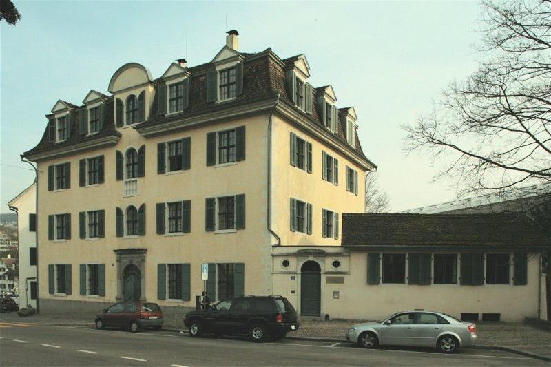 "San. Musiksaal u. Fassaden Haus ""Zum Kiel"", Hirschengraben 20, Zürich (18.Jh.); 1989"