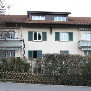 Aussensanierung Mehrfamilienhaus Bergstr. 66, Rüschlikon ZH (20.Jh.); 2011