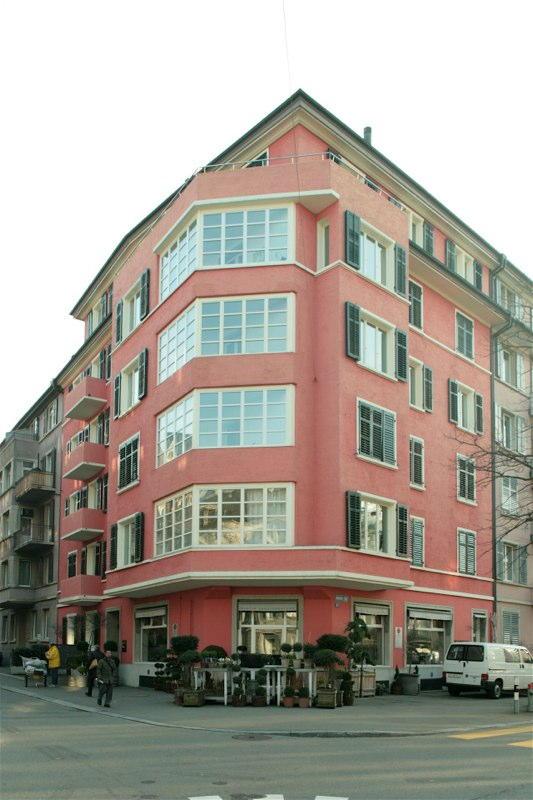 Aussensanierung Mehrfamilienhaus Dufourstr. 87, Zürich (20.Jh.); 1989