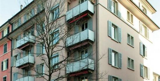 Sanierung Mehrfamilienhaus Dufourstr. 85, Zürich (20.Jh.); 1989
