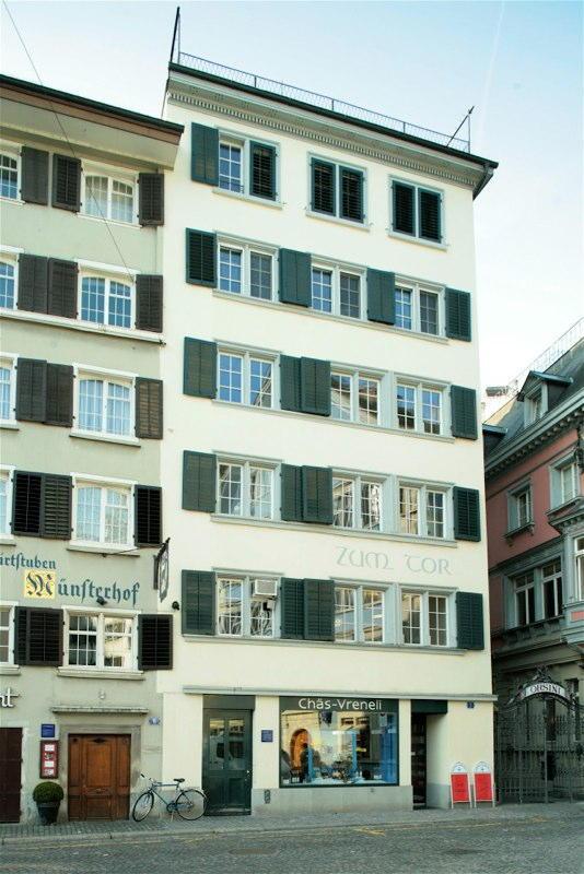 """Aussensanierung Altstadthaus """"Zum Tor"""