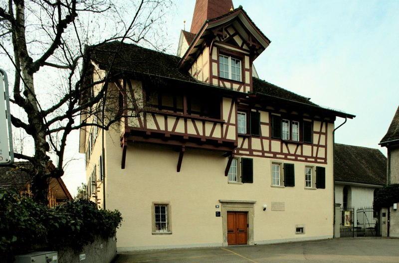 Restaurierung Pfarrhaus Höngg, Am Wettingertobel, Zürich (17.Jh.); 1976