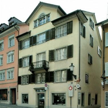 Gesamtsanierung Altstadthaus Predigergasse 18-20, Zürich (16.Jh.); 1976