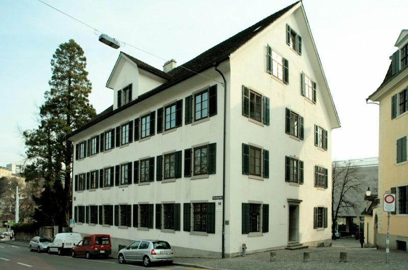 """Sanierung Haus """"Zum Lindengarten"""", Hirschengraben 22, Zürich (18.Jh.); 1989"""